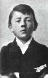Aldolf Hitler as a child