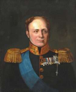 Portrait of Tsar Alexander I of Russia