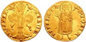 Gold Florin from the Middle Ages