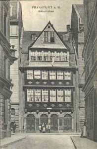 Rothschild family house in Frankfurt